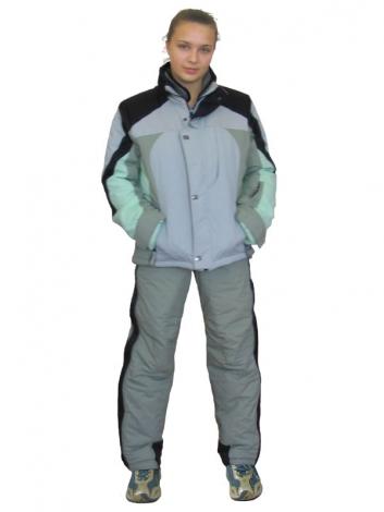 Белый женский лыжный костюм с доставкой